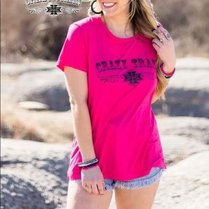 Crazy Train Neon Omaha Outlaw Tank Top  Southwest